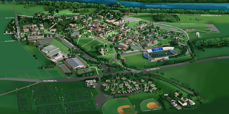 Stevens Point Campus Map.Point University Campus Map Creativehobby Store