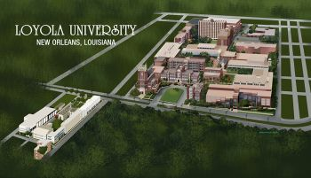 Loyola University New Orleans Map.Sketches Maps Louisiana